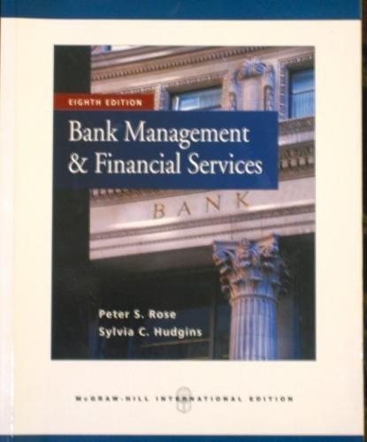 9780071269650: Bank Management & Financial Services