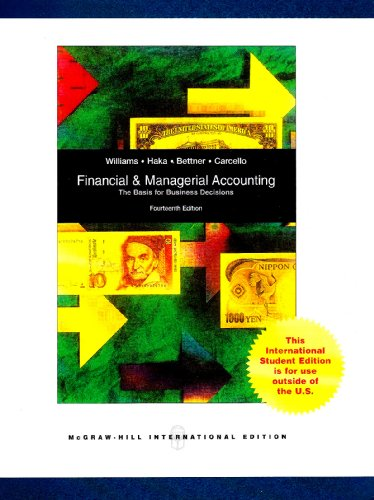 9780071269766: Financial and Managerial Accounting