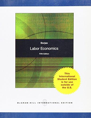 9780071270274: Labor Economics