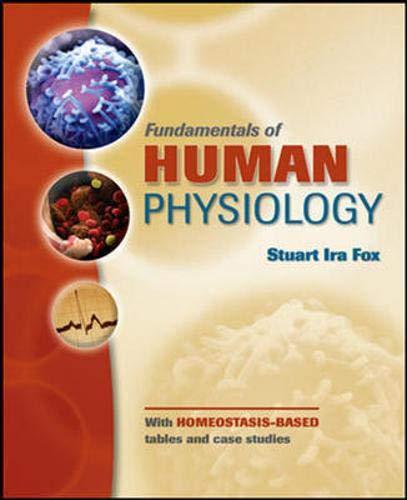 9780071270373: Fundamentals of Human Physiology