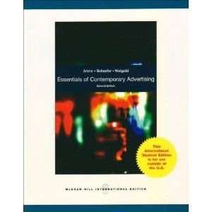 9780071270571: Essentials of Contemporary Advertising