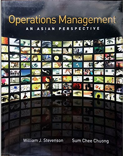 9780071270625: Operations Management: An Asian Perspective