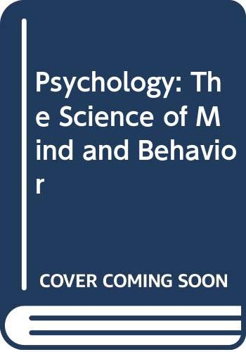 9780071270861: Psychology: The Science of Mind and Behavior