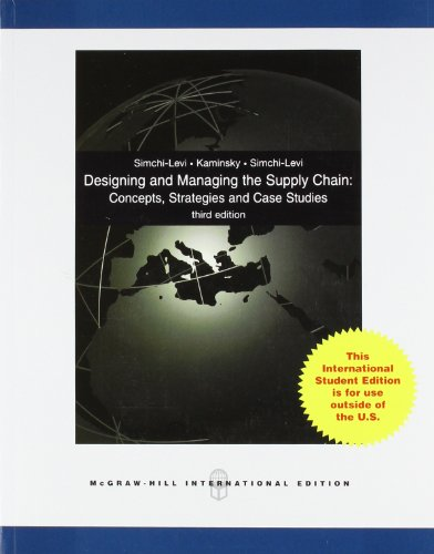 9780071270977: Designing and Managing the Supply Chain 3e with Student CD (Int'l Ed)