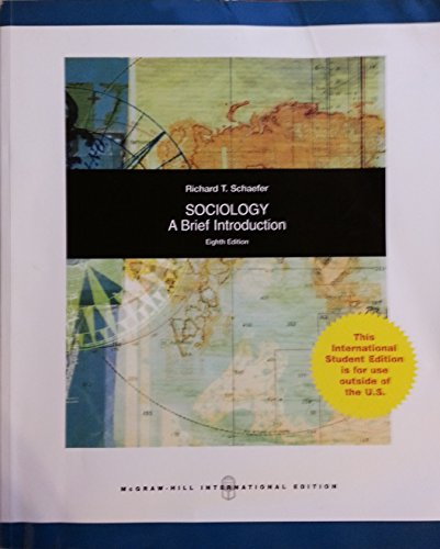 9780071271738: Sociology: A Brief Introduction
