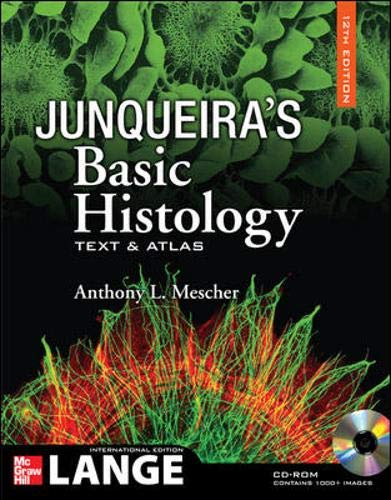 9780071271905: Junqueira's Basic Histology with CDROM, 12th Edition