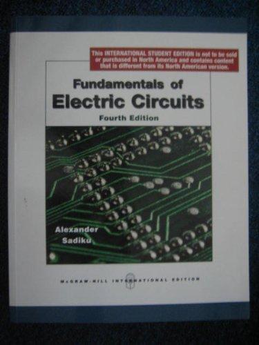9780071272384: Fundamentals of Electric Circuits