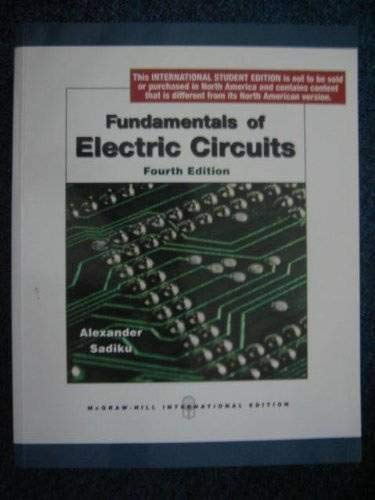 9780071272384: Fundamentals of Electric Circuits