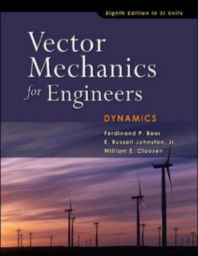 9780071273602: Vector Mechanics for Engineers: Dynamics (SI units)