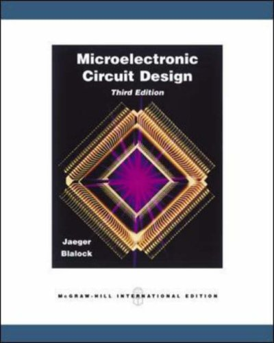 9780071274098: Microelectronic Circuit Design