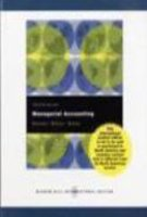 9780071274227: Managerial Accounting - Twelfth Edition (International Edition)