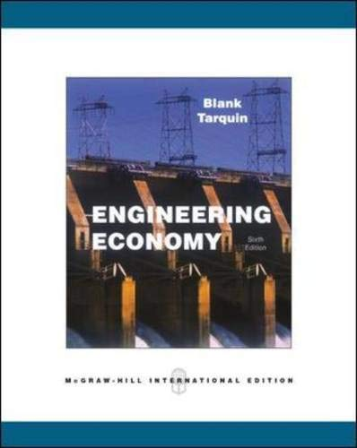 9780071274500: Engineering Economy