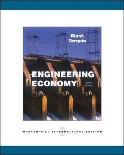 9780071274500: Engineering Economy