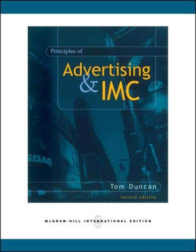 9780071274623: Principles of Advertising and IMC (The McGraw-Hill/Irwin series in marketing)