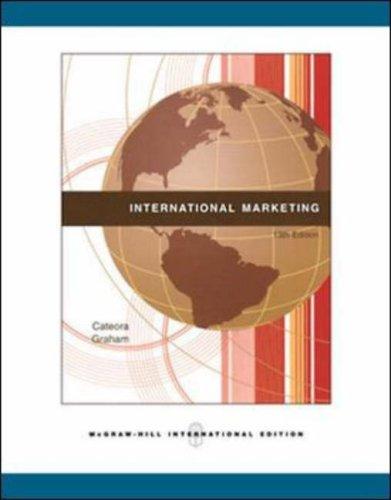 9780071274722: International Marketing, 13th Edition