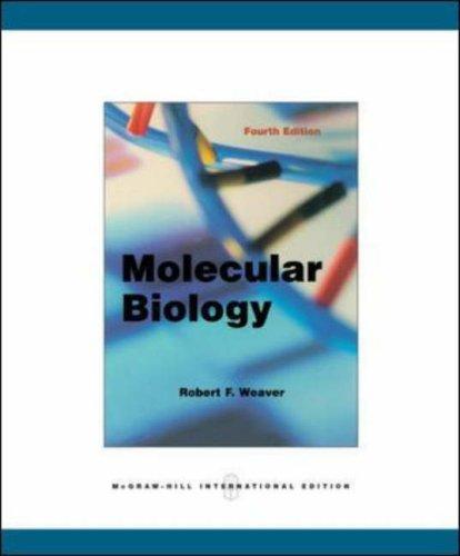 9780071275484: Molecular Biology