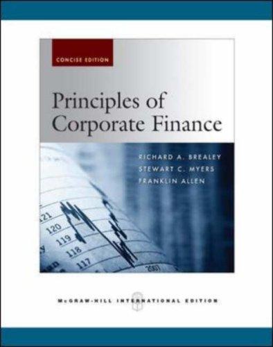 9780071275613: Principles of Corporate Finance: Mandatory Package