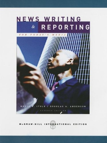 9780071275828: News Writing & Reporting for Today's Media