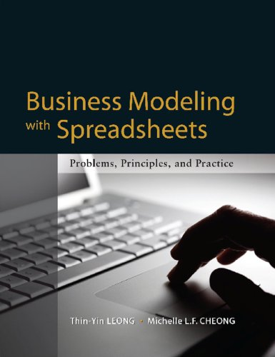 9780071275965: Business Modeling with Spreadsheets: Problems, Principles, and Practice