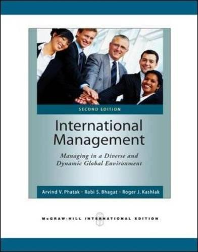 9780071276085: International Management: Managing in a Diverse and Dynamic Global Environment