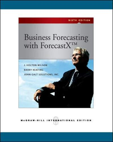 9780071276092: Business Forecasting (Int'l Ed) (Asia Higher Education Business & Economics Management and Organization)