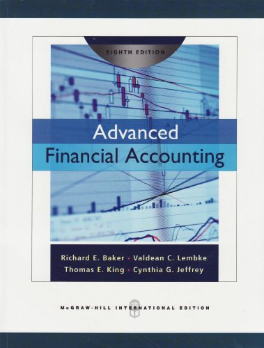 9780071276160: Advanced Financial Accounting