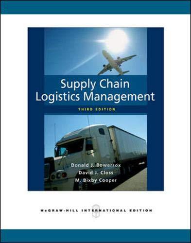 9780071276177: Supply Chain Logistics Management