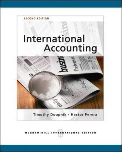 9780071276184: International Accounting