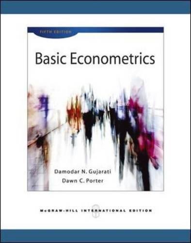 9780071276252: Basic Econometrics