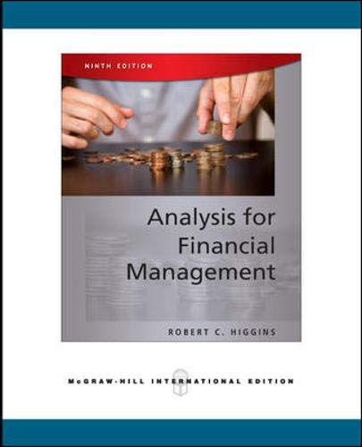 9780071276269: Analysis for Financial Management