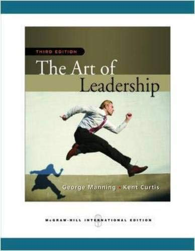 9780071276283: The Art of Leadership