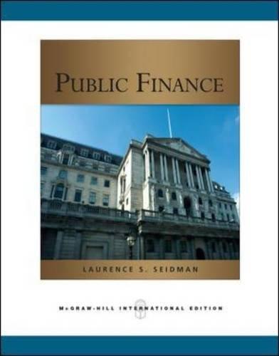 9780071276306: Public Finance