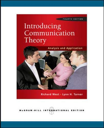 9780071276344: Introducing Communication Theory: Analysis and Application