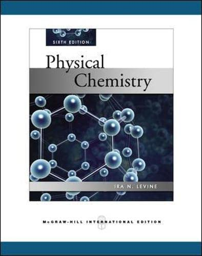 9780071276368: Physical Chemistry (Int'l Ed)