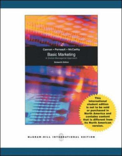 9780071277471: Basic Marketing