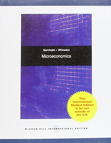 Microeconomics: Whinston, Michael D.,