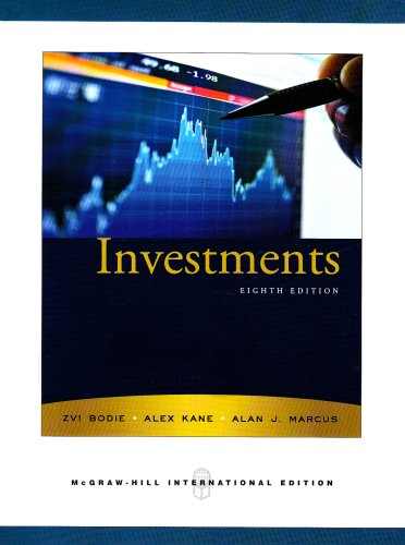 9780071278287: Investments + Standard and Poor's Educational Version of Market Insight