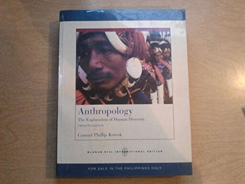 9780071278492: Anthropology: The Exploration of Human Diversity