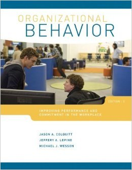 9780071278553: Organizational Behavior: Improving Performance and Commitment in the Workspace (International Edition)