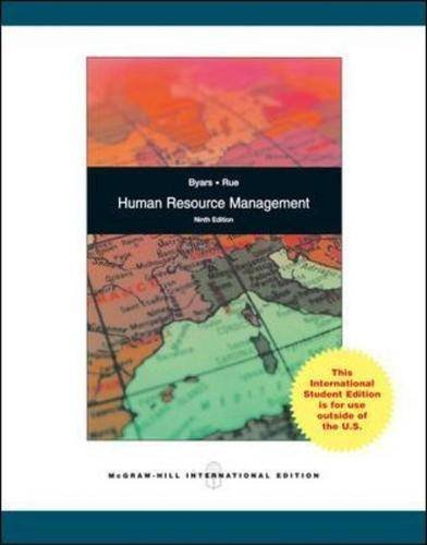 9780071278775: Human Resource Management