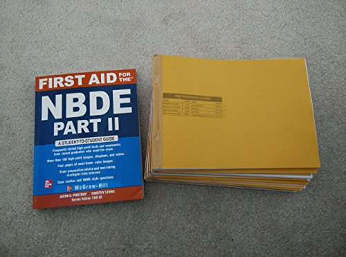 9780071279048: First AID For the NBDE Part-ii a student to student guide