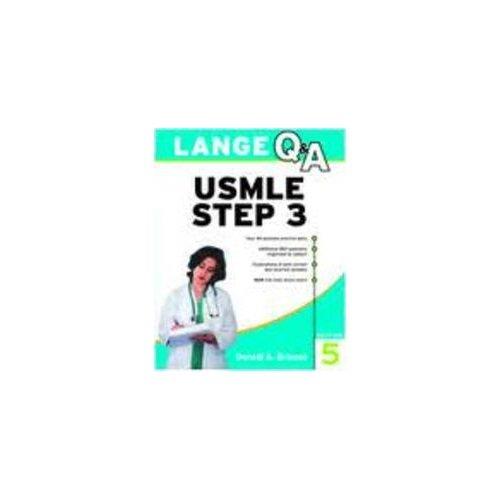 9780071279123: Lange Q & A Usmle Step 3(Int.Ed)