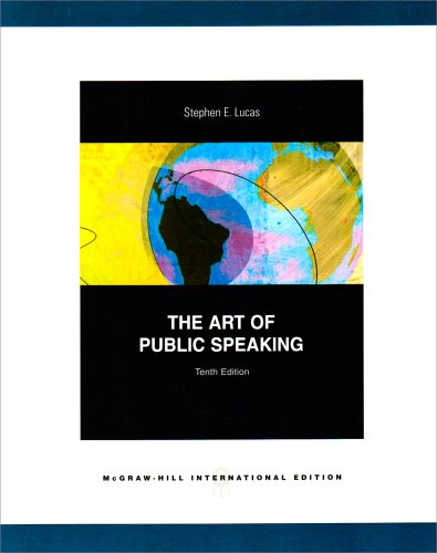 9780071280259: The Art of Public Speaking with Connect Lucas