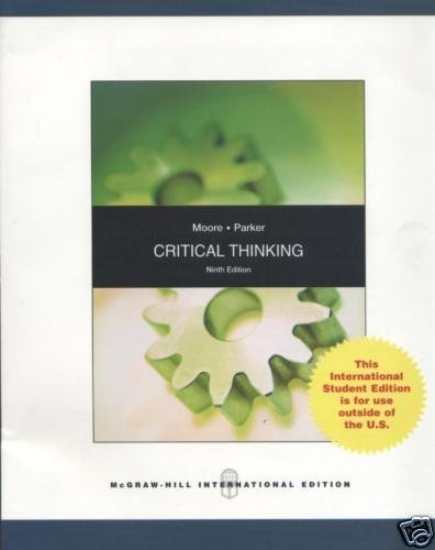 9780071280419: Critical Thinking