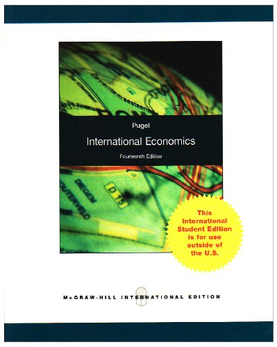 9780071280792: International Economics