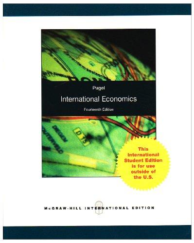 9780071280792: International Economics