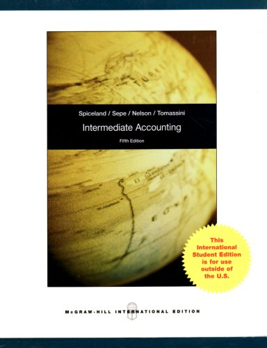 9780071280860: Intermediate Accounting