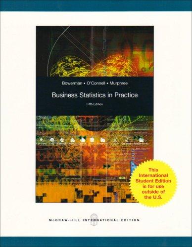 9780071280914: Business Statistics in Practice