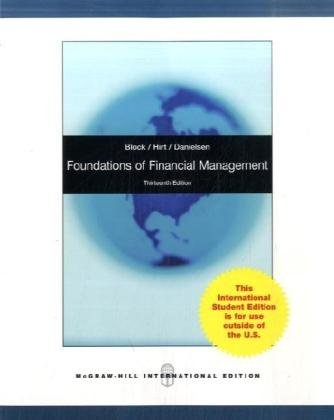 9780071280921: Foundations of Financial Management