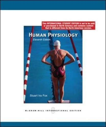 9780071281065: Human Physiology